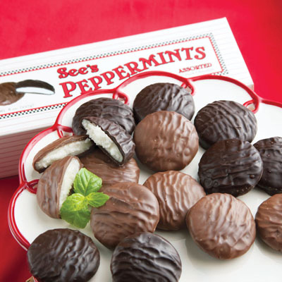 See's Assorted Peppermints - 8oz. - Buy 2 or more and save!