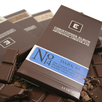Christopher Elbow Chocolate Bars