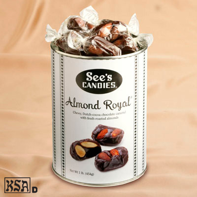 See's Almond Royal - 1lb. - Buy 2 or more and save!