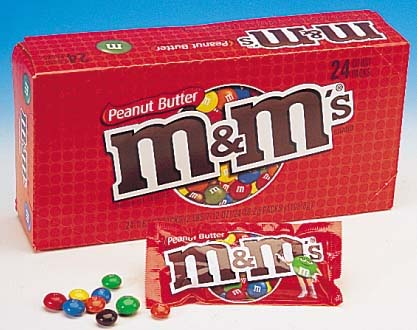 M & M's Peanut Butter Chocolate Candies - 24 packs