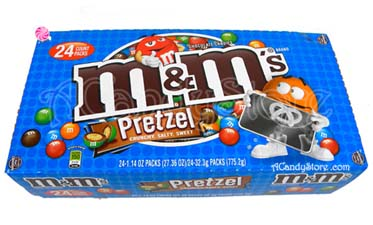 M & M's Pretzel Milk Chocolate Candies - 24 packs