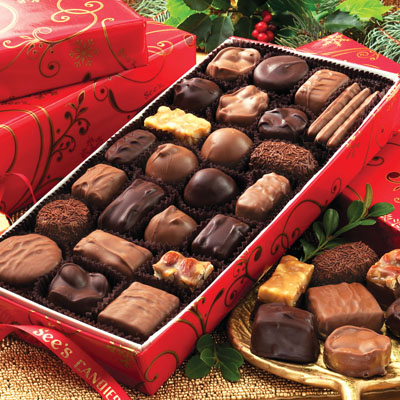 See's Delicious Assorted Chocolates 1lb.- Buy 2 or more and save
